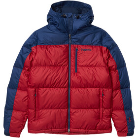 Marmot Guides Down Hoody Men brick/arctic navy